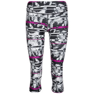 All Eyes On Me 3/4 Trainingstight Damen, schwarz / pink, zoom bei OUTFITTER Online