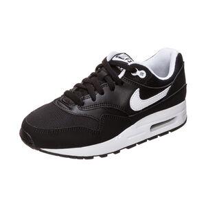 Air Max 1 Sneaker Kinder, schwarz / weiß, zoom bei OUTFITTER Online