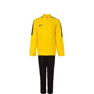 Dry Academy 18 Trainingsanzug Kinder, gelb / schwarz, zoom bei OUTFITTER Online