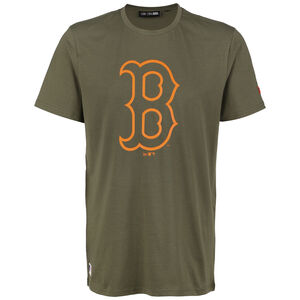 MLB Boston Red Sox Seasonal Team Logo T-Shirt Herren, grün / orange, zoom bei OUTFITTER Online