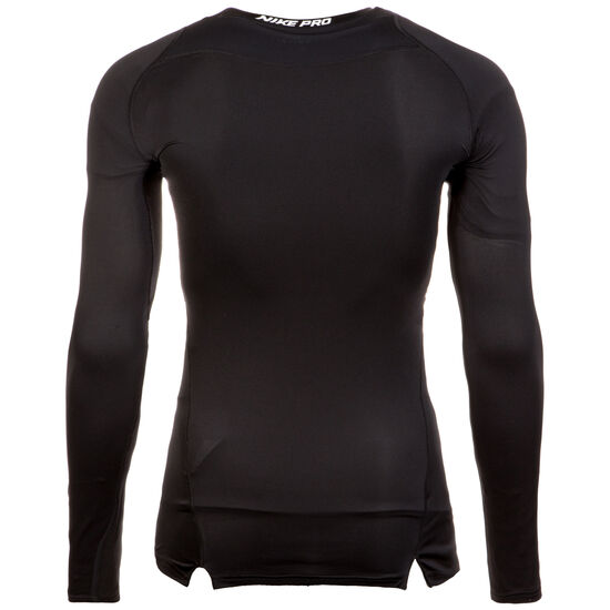 Pro Longlseeve Trainingsshirt Herren, schwarz, zoom bei OUTFITTER Online