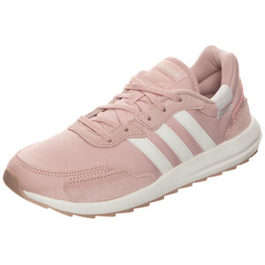 Retro Runner Sneaker Damen, rosa / weiß, zoom bei OUTFITTER Online
