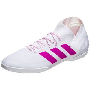 Nemeziz 18.3 Indoor Fußballschuh Herren, weiß / pink, zoom bei OUTFITTER Online
