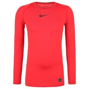 Pro Longlseeve Trainingsshirt Herren, rot, zoom bei OUTFITTER Online