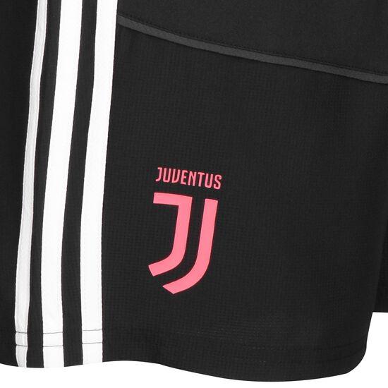 Juventus Turin Woven Trainingsshort Herren, schwarz / rot, zoom bei OUTFITTER Online