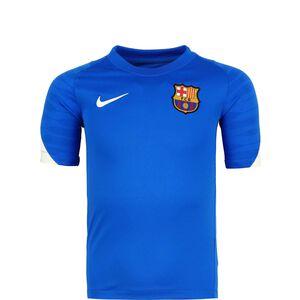 FC Barcelona Strike Trainingsshirt Kinder, blau / weiß, zoom bei OUTFITTER Online