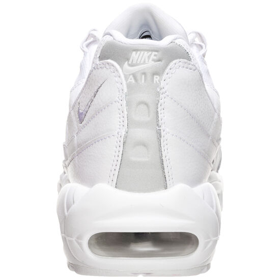 Air Max 95 Essential Sneaker Herren, weiß / silber, zoom bei OUTFITTER Online