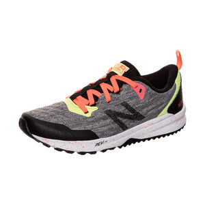 FuelCore NITREL Trail Laufschuh Kinder, grau / korall, zoom bei OUTFITTER Online