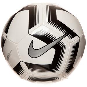 Pitch Fußball, schwarz / silber, zoom bei OUTFITTER Online
