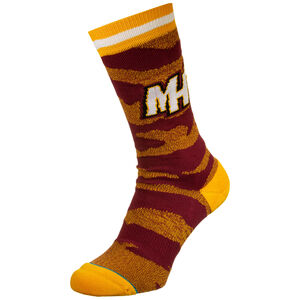 NBA Miami Heat Camo Melange Socken Herren, , zoom bei OUTFITTER Online