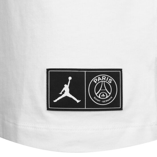 Paris St.-Germain Wordmark T-Shirt Herren, weiß / rot, zoom bei OUTFITTER Online
