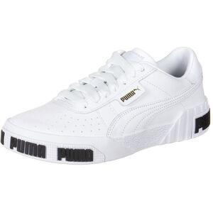 Cali Bold Sneaker Damen, weiß / gold, zoom bei OUTFITTER Online
