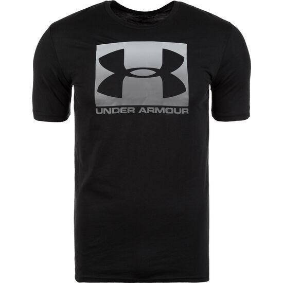 HeatGear Boxed Sportstyle Trainingsshirt Herren, schwarz / grau, zoom bei OUTFITTER Online