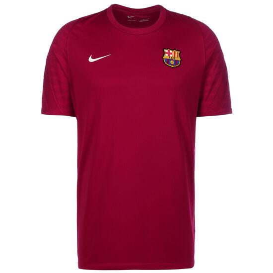FC Barcelona Strike Trainingsshirt Herren, dunkelrot / gelb, zoom bei OUTFITTER Online