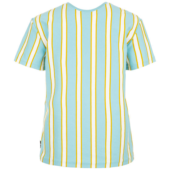 Downtown Stripe T-Shirt Damen, hellblau / gelb, zoom bei OUTFITTER Online