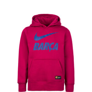 FC Barcelona Core Kapuzenpullover Kinder, Rot, zoom bei OUTFITTER Online