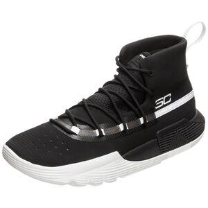 SC 3Zero II Basketballschuh Herren, schwarz / weiß, zoom bei OUTFITTER Online