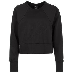 Get Fit Lux Crew Dry Fleece Trainingssweat Damen, schwarz, zoom bei OUTFITTER Online