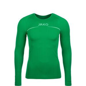 Comfort Trainingsshirt Kinder, grün / weiß, zoom bei OUTFITTER Online