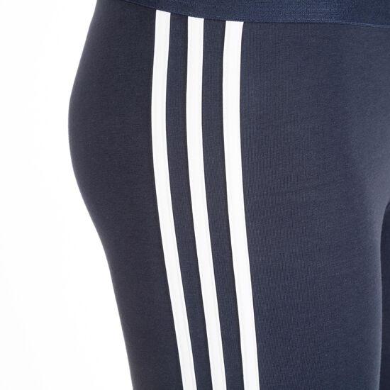 Essentials Linear Trainingstight Damen, blau / weiß, zoom bei OUTFITTER Online