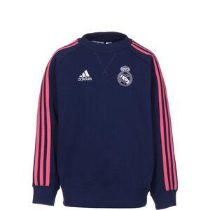 Real Madrid Crew Sweatshirt Kinder, dunkelblau / weiß, zoom bei OUTFITTER Online