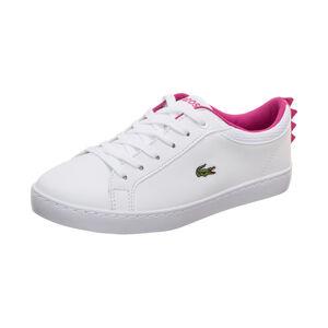 Straightset Sneaker Kinder, weiß / pink, zoom bei OUTFITTER Online