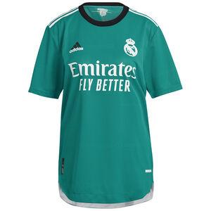 Real Madrid Trikot 3rd Authentic 2021/2022 Herren, türkis / weiß, zoom bei OUTFITTER Online
