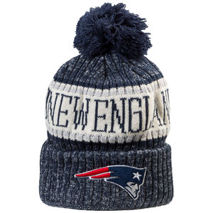 NFL New England Patriots Sideline Bobble Knit Beanie, , zoom bei OUTFITTER Online