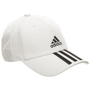 Baseball 3-Stripes Strapback Cap, hellgrau / schwarz, zoom bei OUTFITTER Online