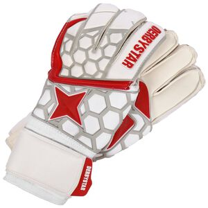 APS White Red Star II Torwarthandschuh, weiß / rot, zoom bei OUTFITTER Online