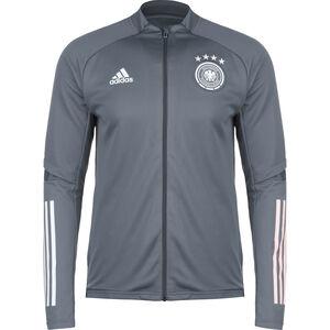 DFB Trainingsjacke EM 2020 Herren, grau / weiß, zoom bei OUTFITTER Online
