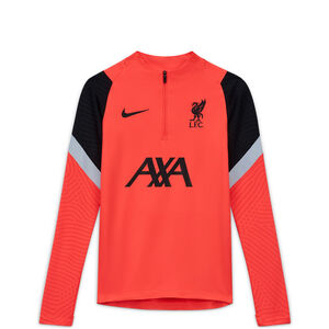 FC Liverpool Dry Strike Drill Sweatshirt CL Kinder, rot / schwarz, zoom bei OUTFITTER Online