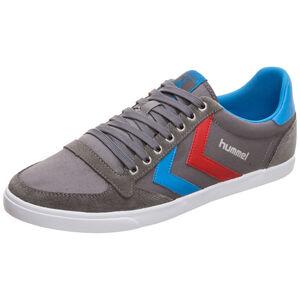 Slimmer Stadil Low Sneaker, grau / rot, zoom bei OUTFITTER Online