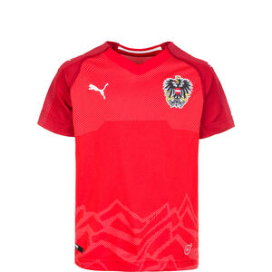 Österreich Trikot Home Kinder, Rot, zoom bei OUTFITTER Online