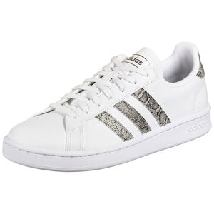 Grand Court Sneaker Damen, weiß / grau, zoom bei OUTFITTER Online