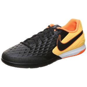 React Tiempo Legend 8 Pro Indoor Fußballschuh Herren, schwarz / orange, zoom bei OUTFITTER Online