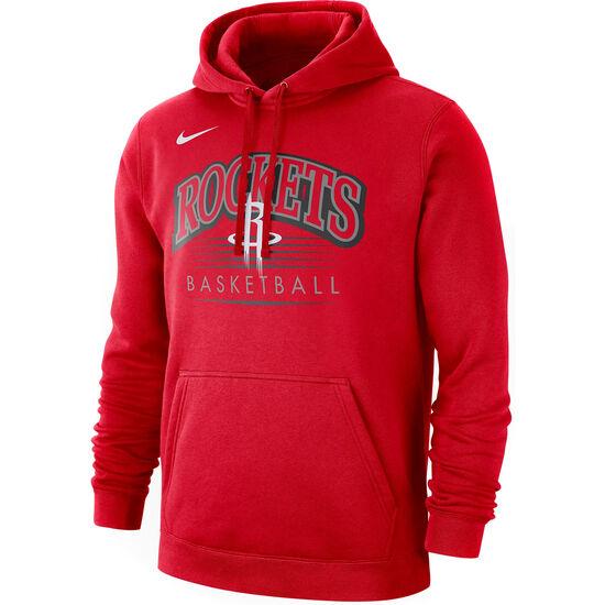 NBA Houston Rockets Kapuzenpullover Herren, rot, zoom bei OUTFITTER Online