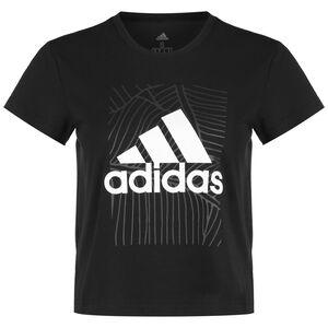 Adi Vibes Trainingsshirt Damen, schwarz / grau, zoom bei OUTFITTER Online