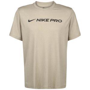 Dri-FIT Nike Pro Trainingsshirt Herren, beige, zoom bei OUTFITTER Online
