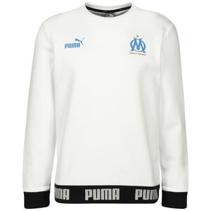 Olympique Marseille Culture Trainingssweater Herren, weiß, zoom bei OUTFITTER Online