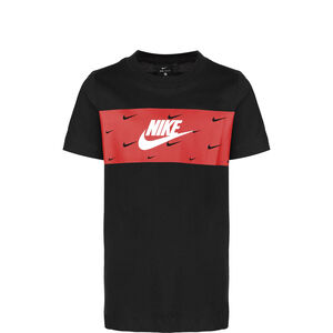 Panel Futura T-Shirt Kinder, schwarz / rot, zoom bei OUTFITTER Online