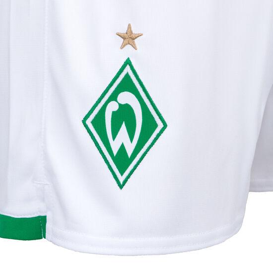 SV Werder Bremen Short Home 2019/2020 Herren, weiß / grün, zoom bei OUTFITTER Online
