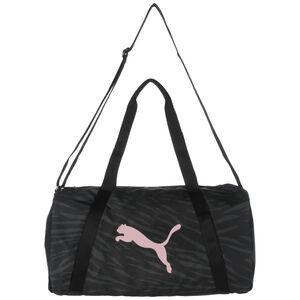 Essentials Sporttasche, schwarz / rosa, zoom bei OUTFITTER Online