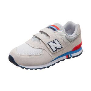 YV574-M Sneaker Kinder, beige / blau, zoom bei OUTFITTER Online