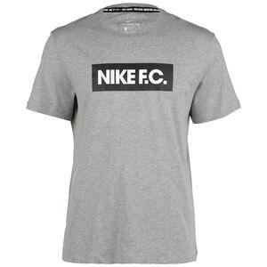 F.C. Essentials T-Shirt Herren, grau / schwarz, zoom bei OUTFITTER Online