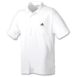 Performance Solid Logo Poloshirt Herren, weiß / schwarz, zoom bei OUTFITTER Online