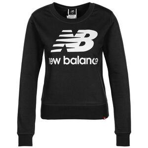 Essentials Crew Sweatshirt Damen, schwarz / weiß, zoom bei OUTFITTER Online