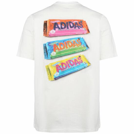 Snack Photo T-Shirt Herren, weiß, zoom bei OUTFITTER Online