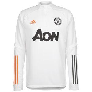 Manchester United Trainingspullover Herren, weiß / schwarz, zoom bei OUTFITTER Online