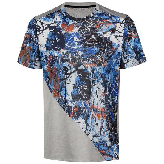 Printed Fast Flight Trainingsshirt Herren, blau / grau, zoom bei OUTFITTER Online